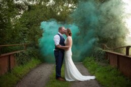 Smoke Bomb photography at Sopley Mill