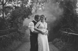 Dramatic Wedding photography at Dorset Wedding