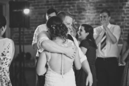 Dancing fun at Sopley Mill wedding