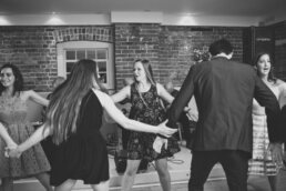 Wedding dancing in Dorset