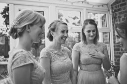 Dorset Bridesmaids wearing Chi Chi Dresses