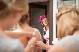 Documentary photography at Canford Magna Church wedding