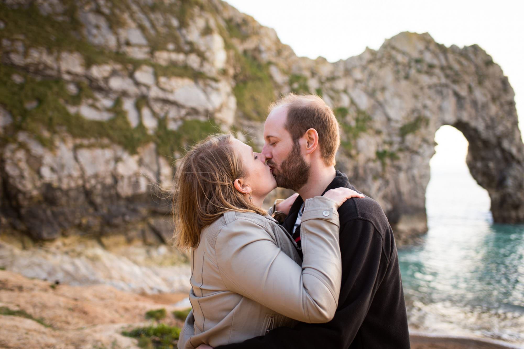 Engagement Photoshoot at Durdle Door
