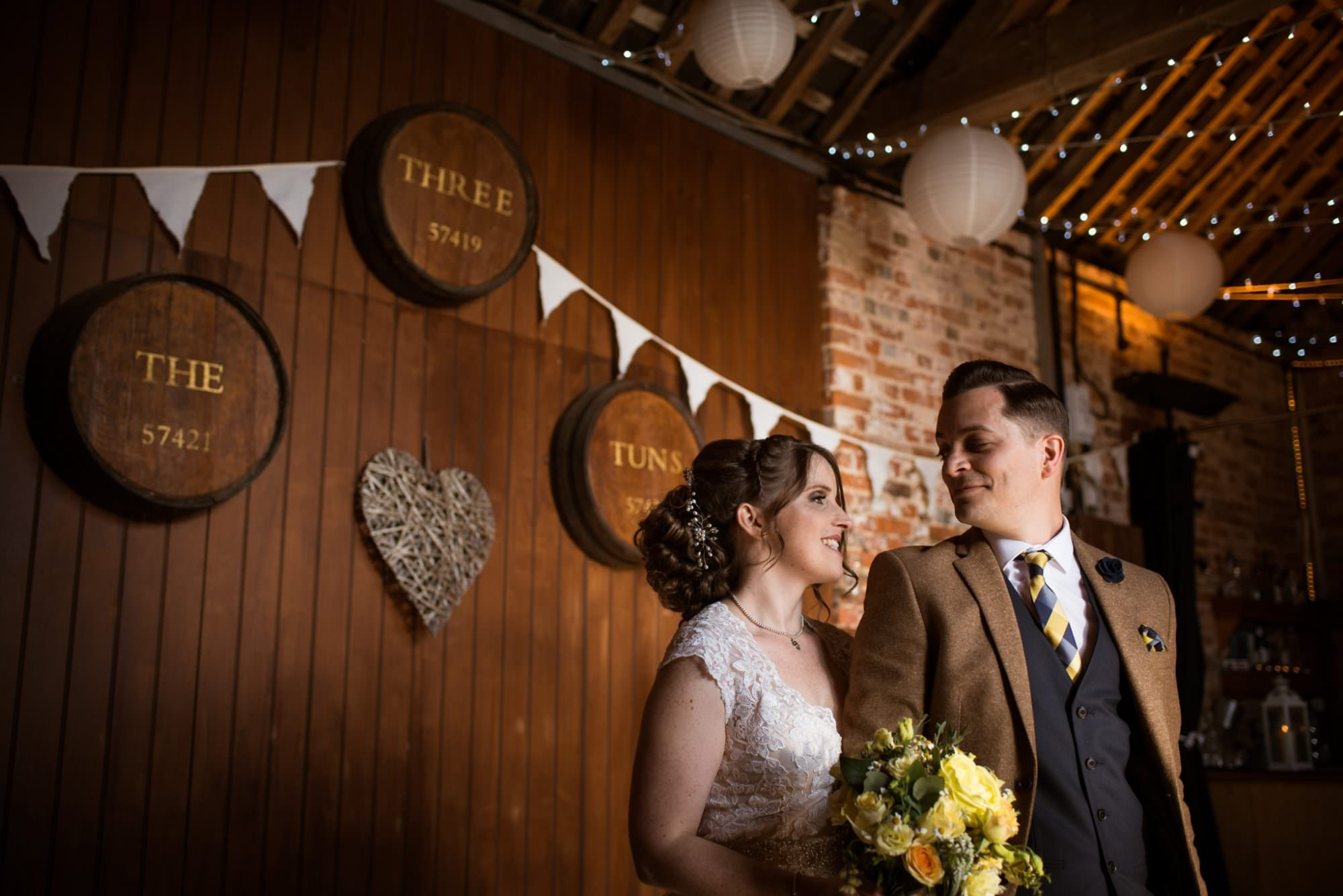Wedding at Three Tuns Wedding in Bransgore by Hampshire Photographer