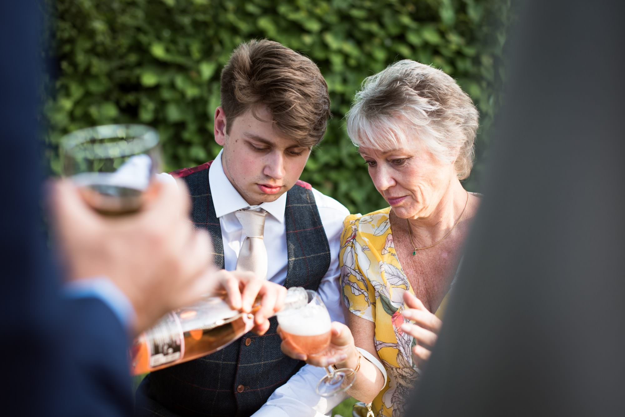 Documentary photography at Wimborne Dorset Wedding