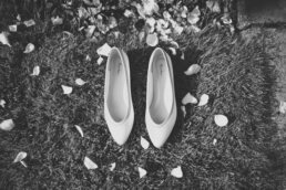 Rainbow Shoes by Dorset Wedding Photographer
