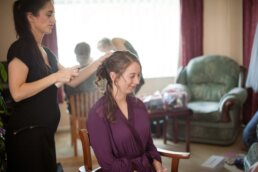 Bridal Hair by Barnet & Boatrace at Canford Magna