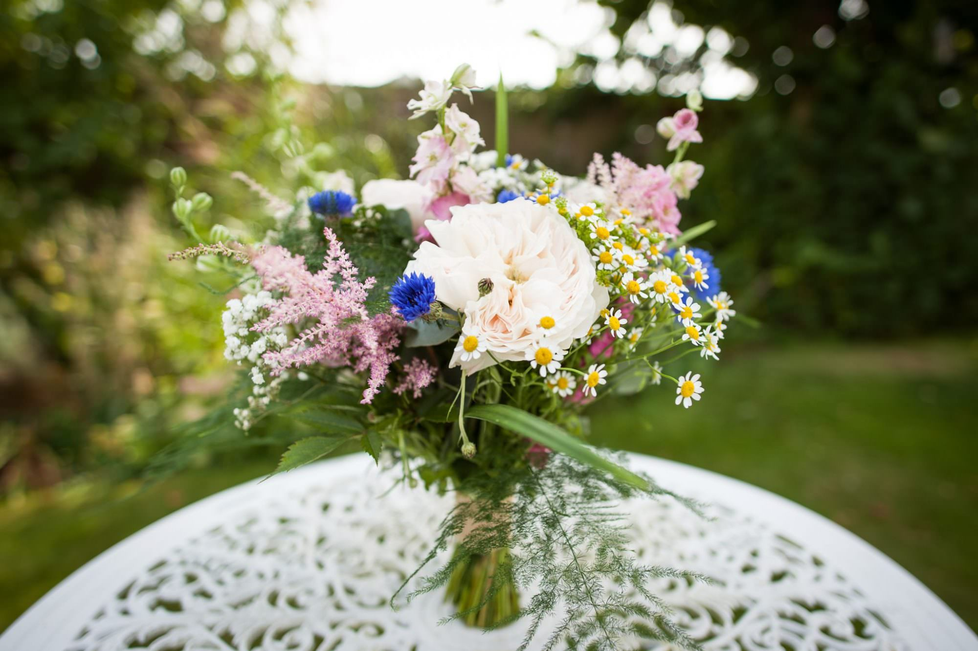 Photograph of Bouquet for Canford Magna Church