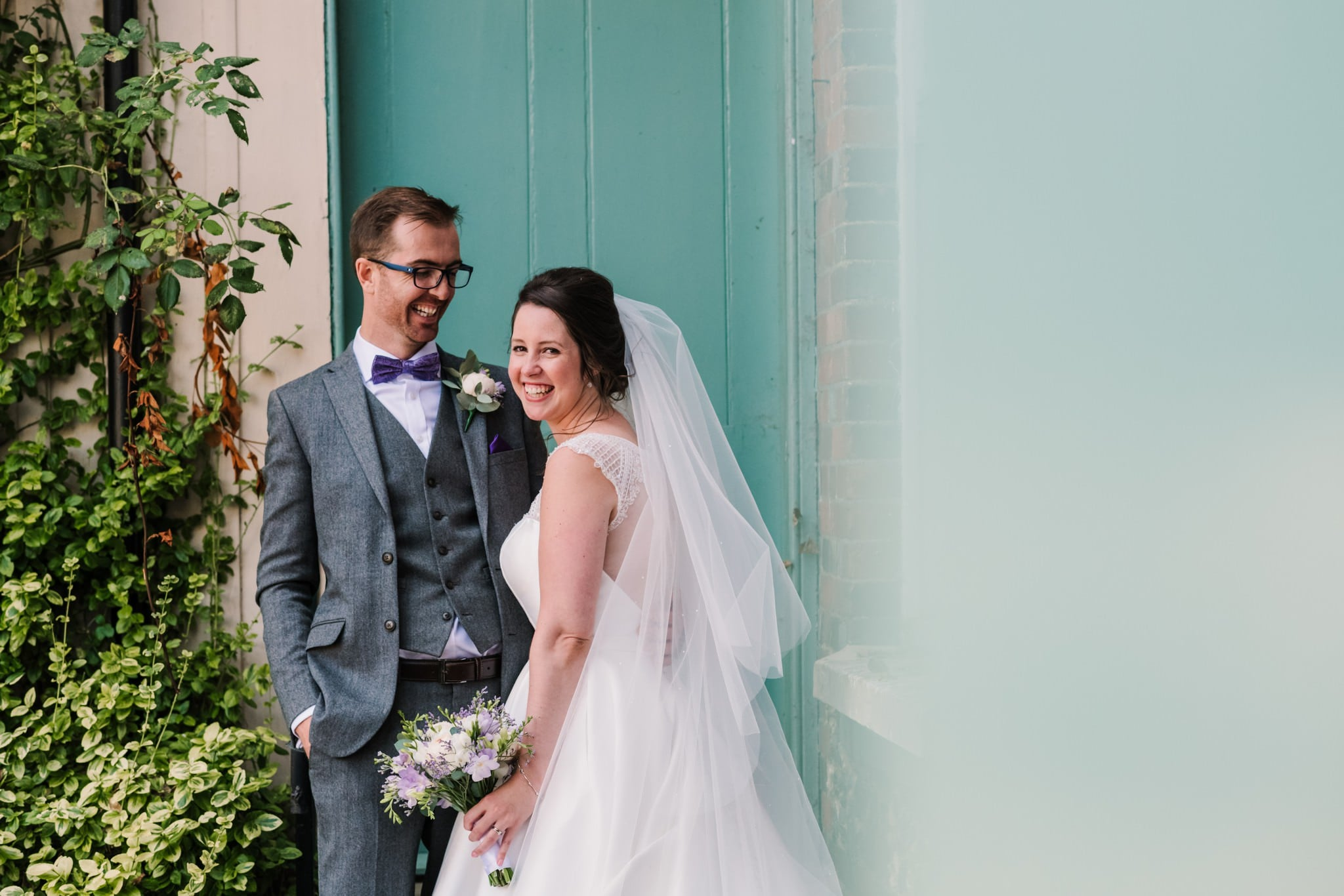 Colourful Dorset wedding photography at Knighton House Wedding