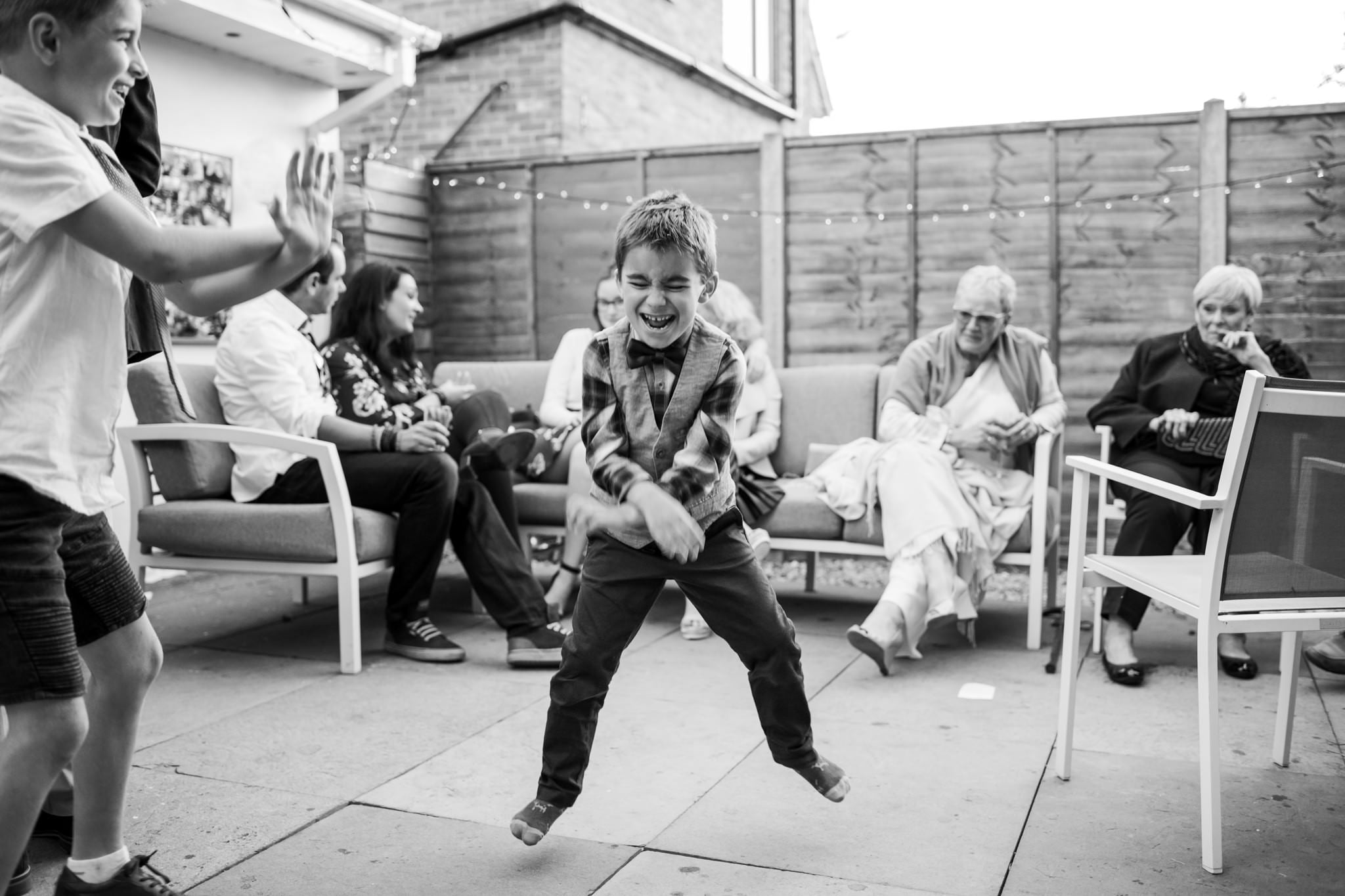 Fun wedding photography at gay bournemouth wedding