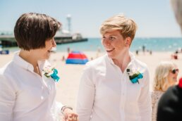 Photography of Bournemouth Gay Wedding