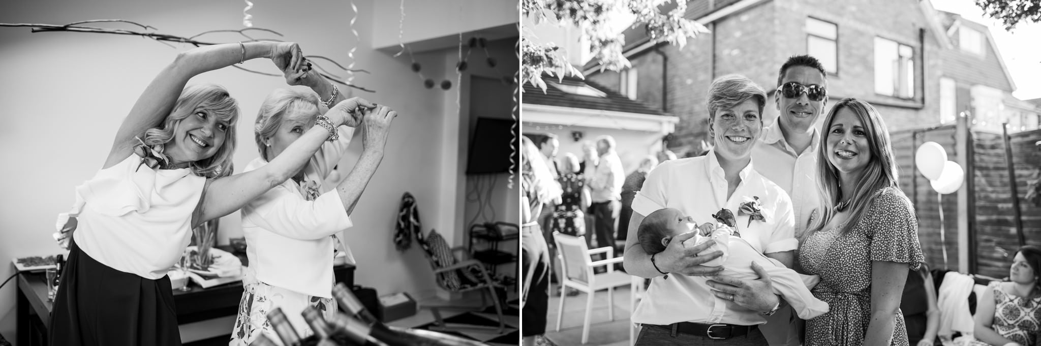 Wedding photography at Dorset garden wedding