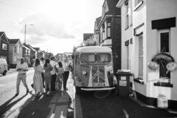 Bournemouth street food at Dorset wedding
