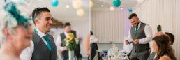 Relaxed wedding photography at Gordleton Mill Lymington