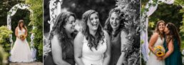 Brides photos at Gordleton Mill wedding