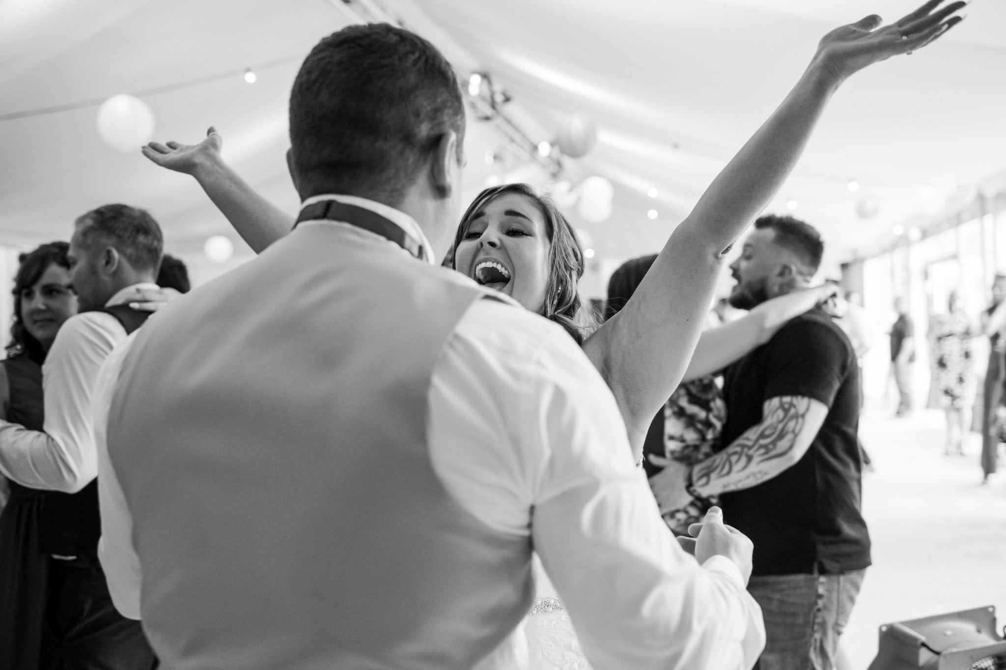 Dancefloor photos at Gordleton Mill in the new forest