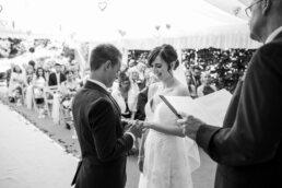 Rings at Parley Manor Wedding