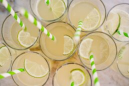 Drinks at Parley Manor Wedding
