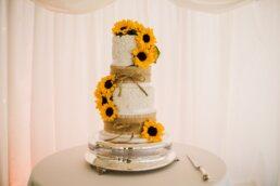 Wedding cake at Parley Manor
