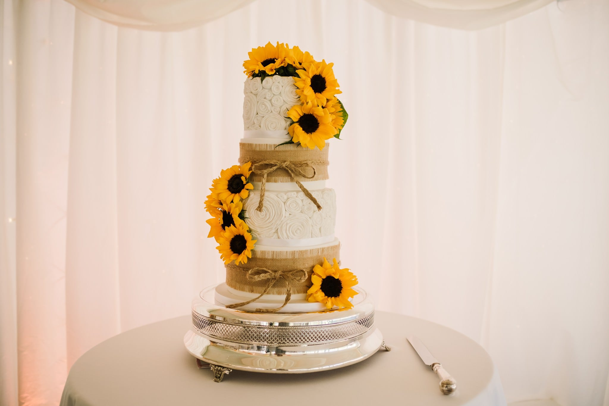 Wedding cake at Parley Manor