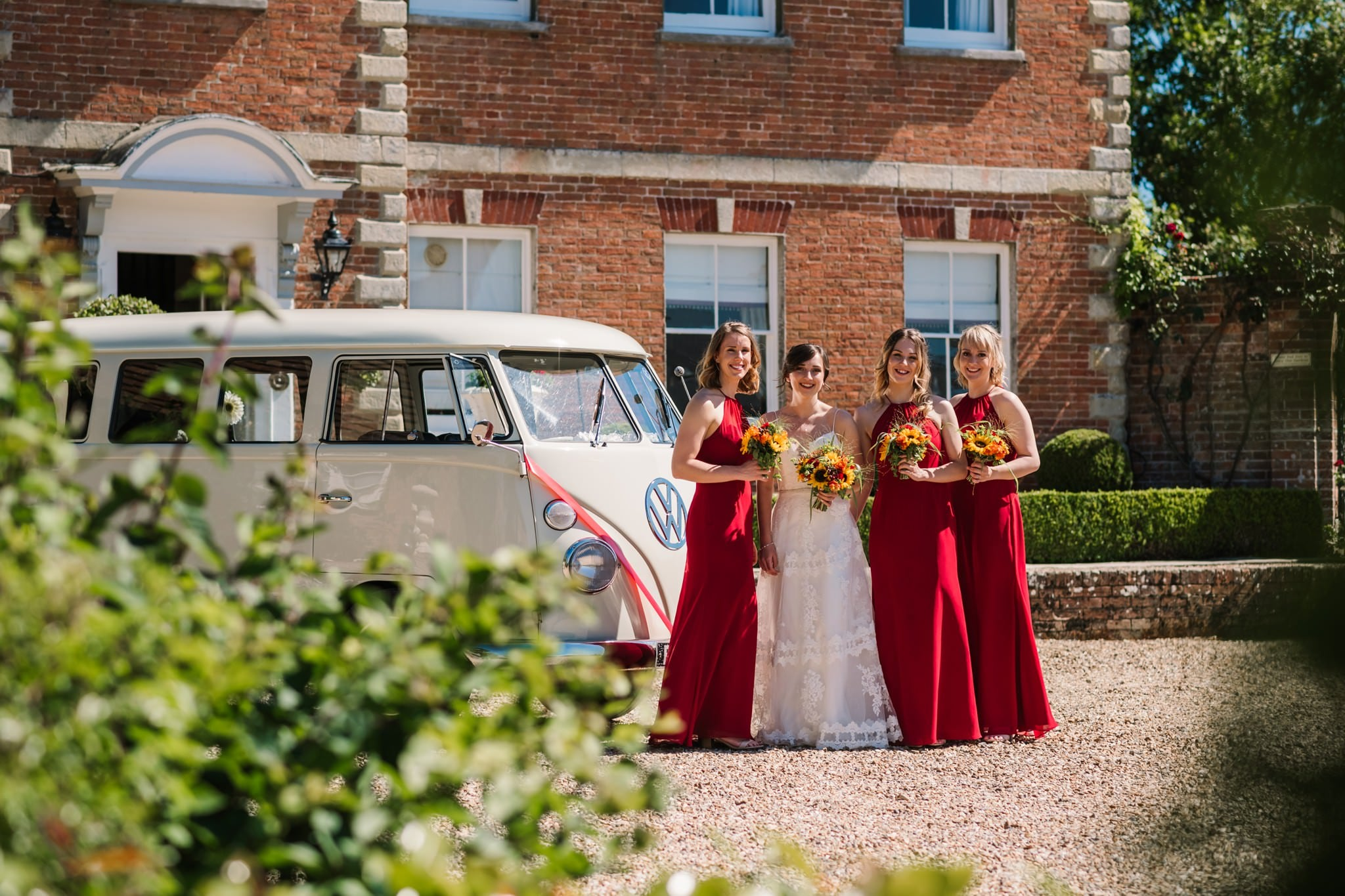 VW at Parley Manor Wedding