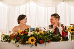 Speeches at Parley Manor Wedding