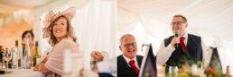 Wedding speeches at Parley Manor