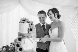 Wedding cake at Parley Manor Wedding
