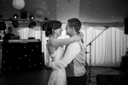 First dance photos at Parley Manor Wedding