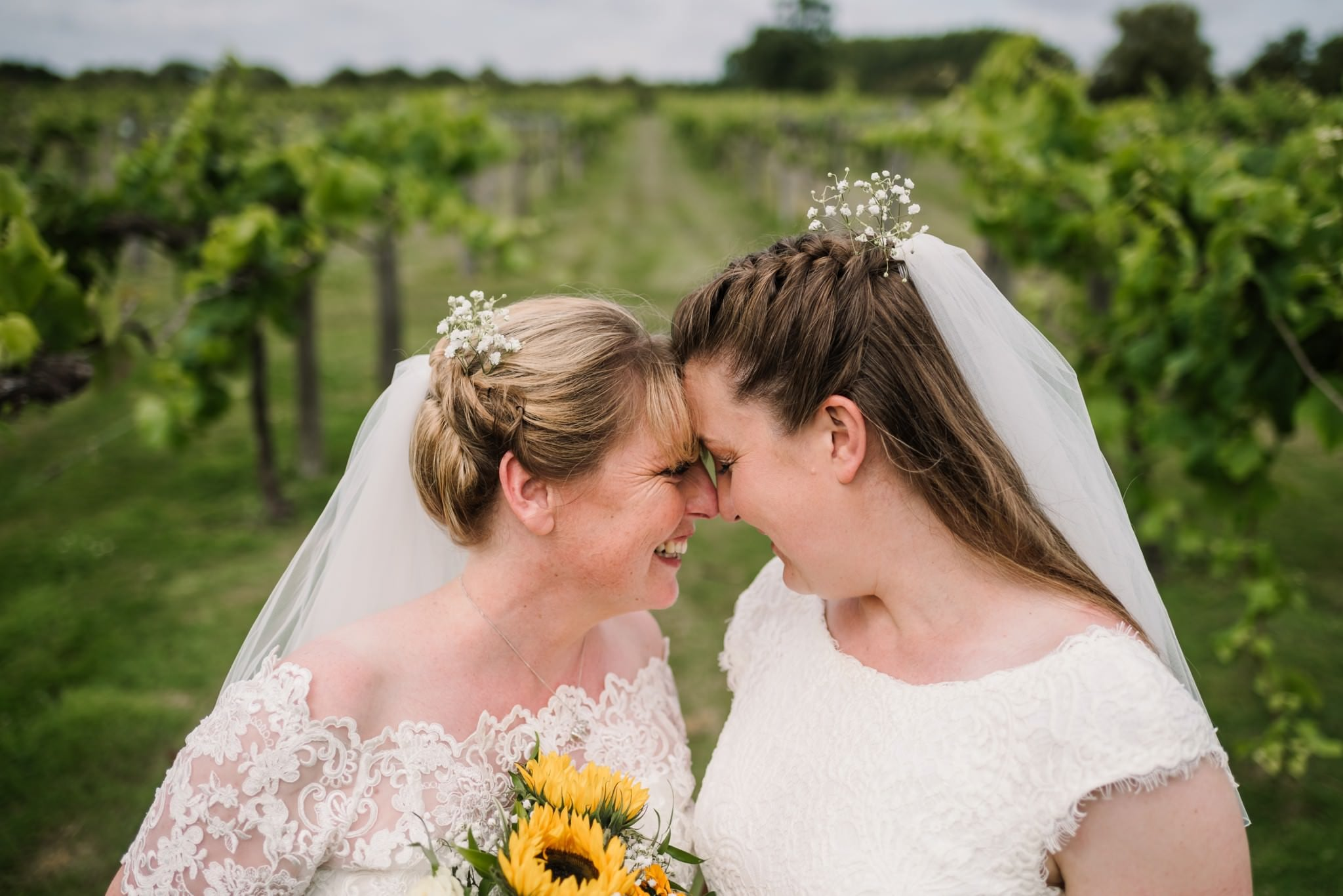 Three Choirs Vineyard wedding day