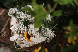 Buttonholes at Three Choirs Vineyard wedding
