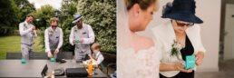 Natural photos at Three Choirs Vineyard wedding