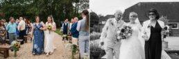 Gay brides at Three Choirs Vineyard wedding day