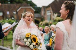 Wedding photography at Three Choirs Vineyard wedding