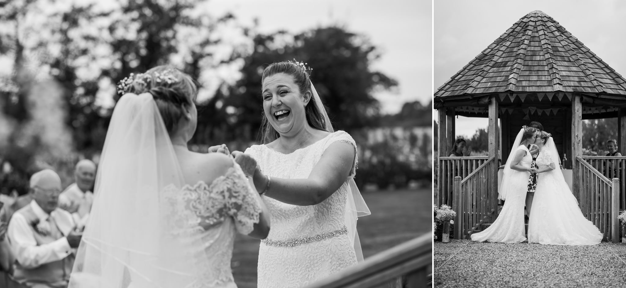 Black and white photography at Three Choirs Vineyard wedding