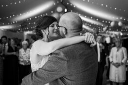 First dance photos at Gordleton Mill Wedding