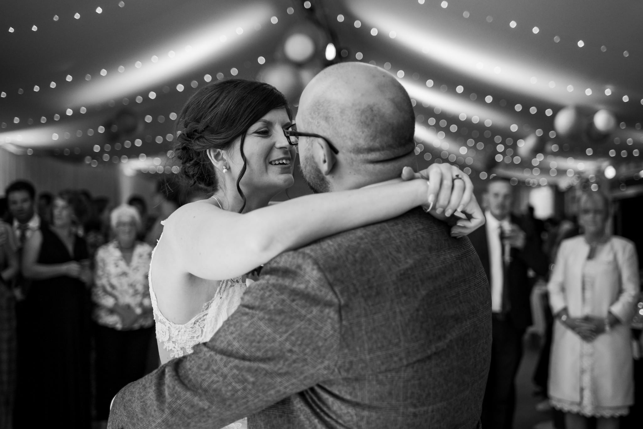 First dance photos at Gordleton Mill Wedding