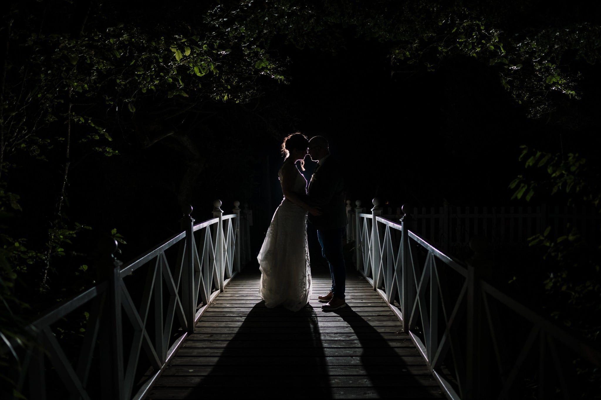 OCF photos at Gordleton Mill Wedding