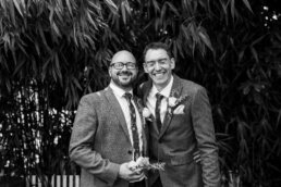 Black & white photography at Gordleton Mill Wedding