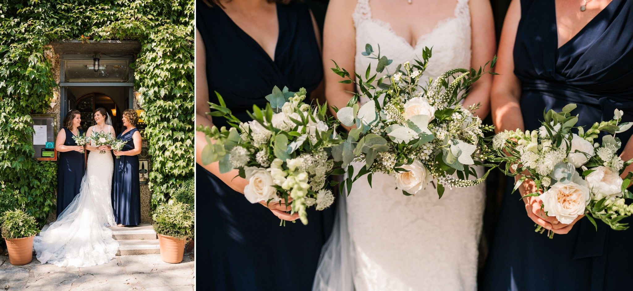 Photography of flowers at Gordleton Mill Wedding