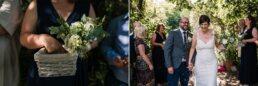 Confetti at Gordleton Mill Wedding