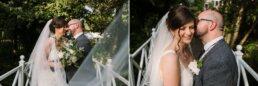 Bridge photos at Gordleton Mill Wedding