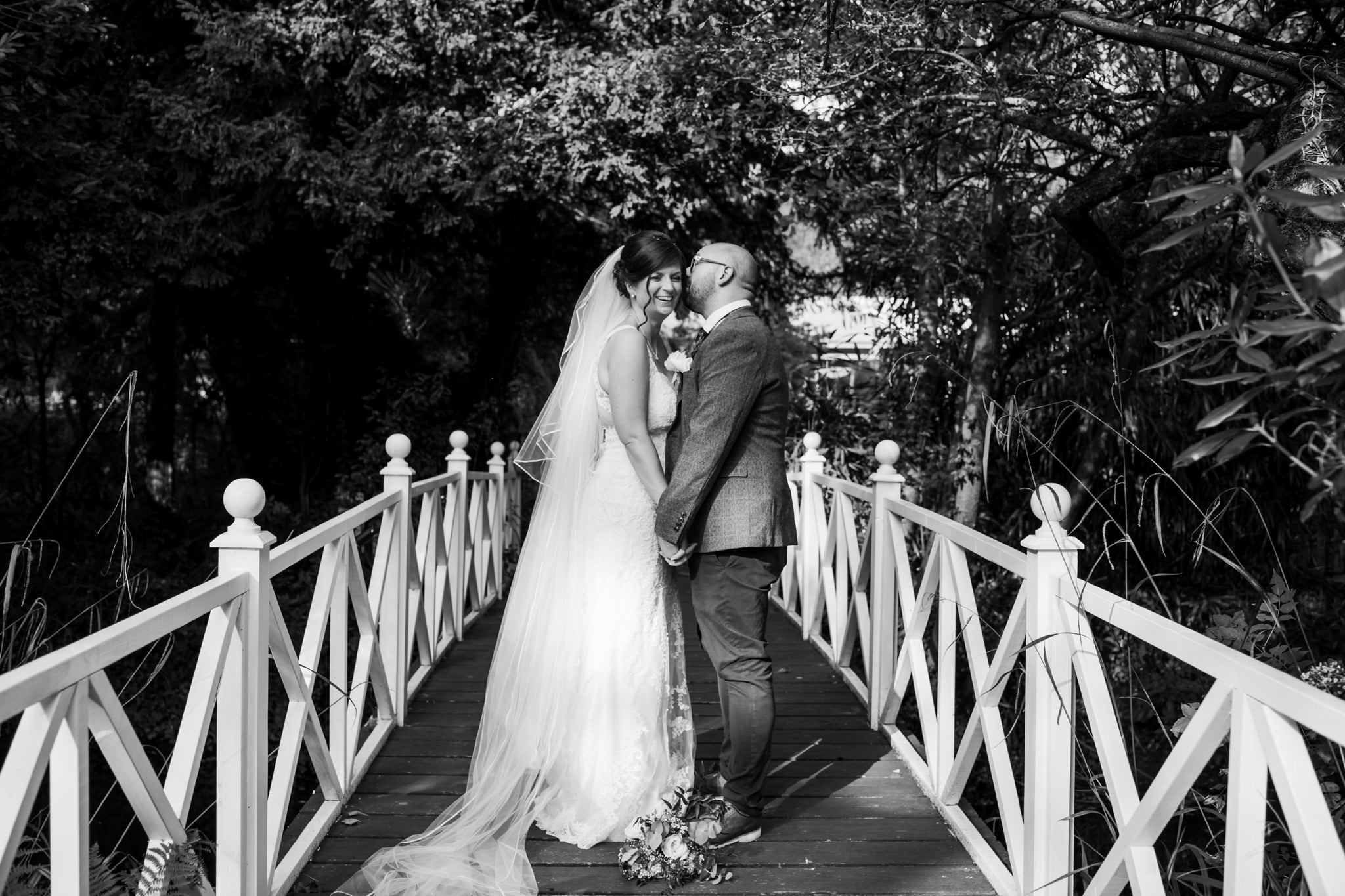 Nikon photographer at Gordleton Mill Wedding