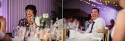 Photos of speech at Gordleton Mill Wedding