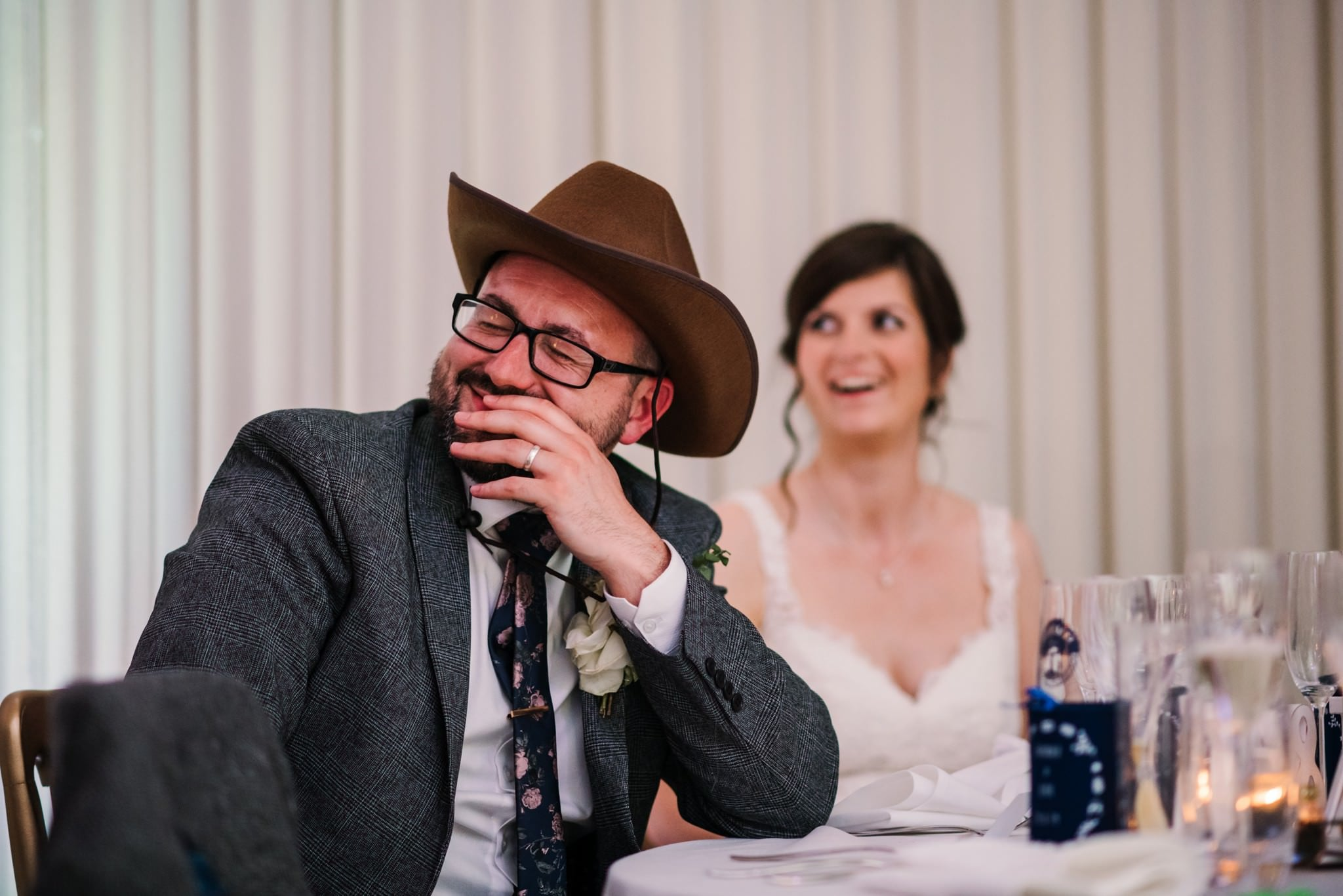 Funny speech ideas at Gordleton Mill Wedding