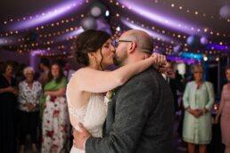 First dance at Gordleton Mill Wedding