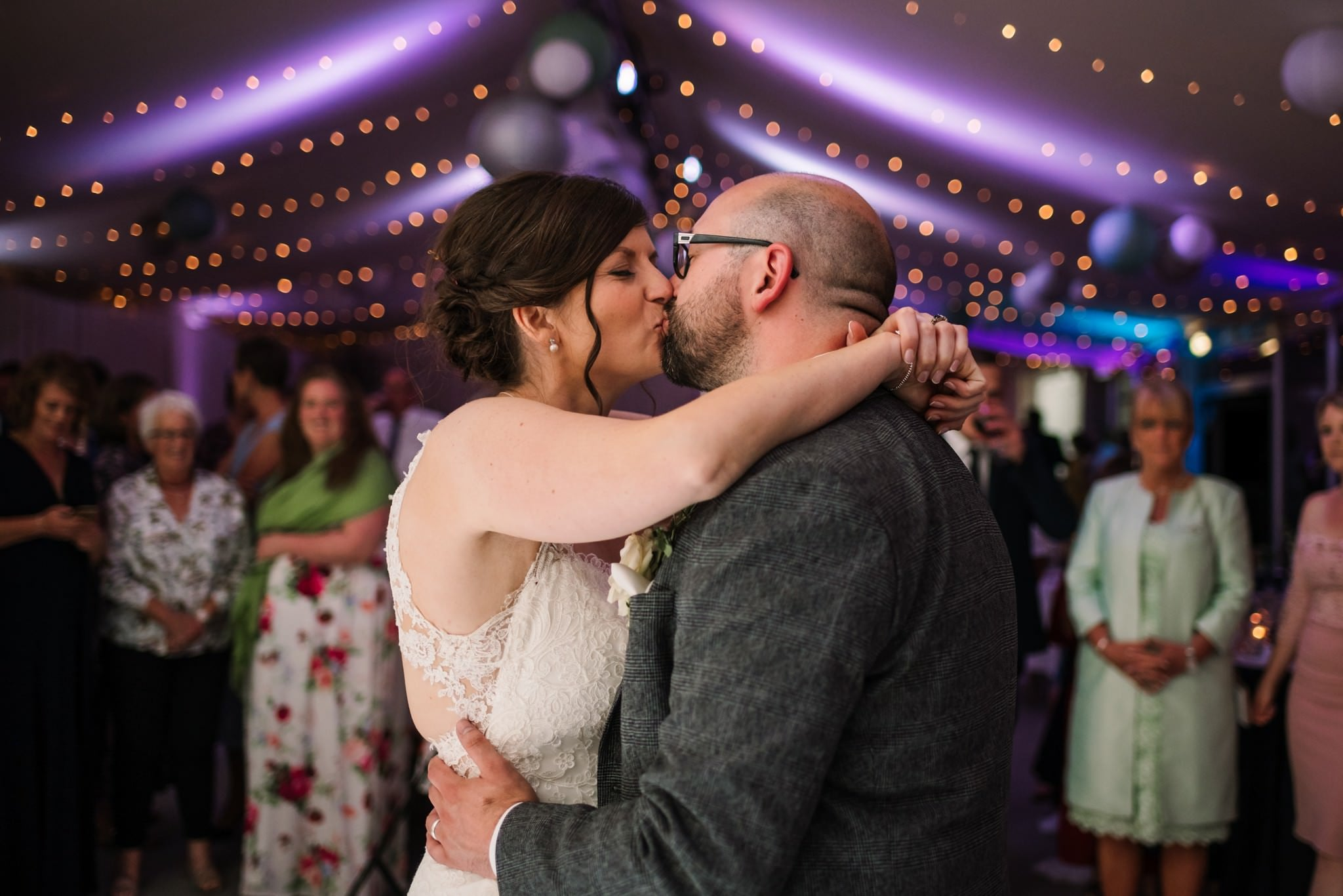 First dance at Gordleton Mill Wedding