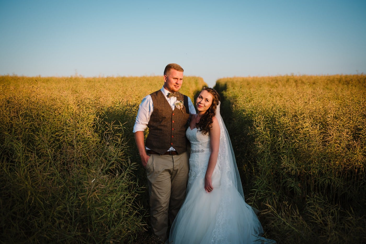 Golden hour photos by Milton Abbas Wedding Photographer