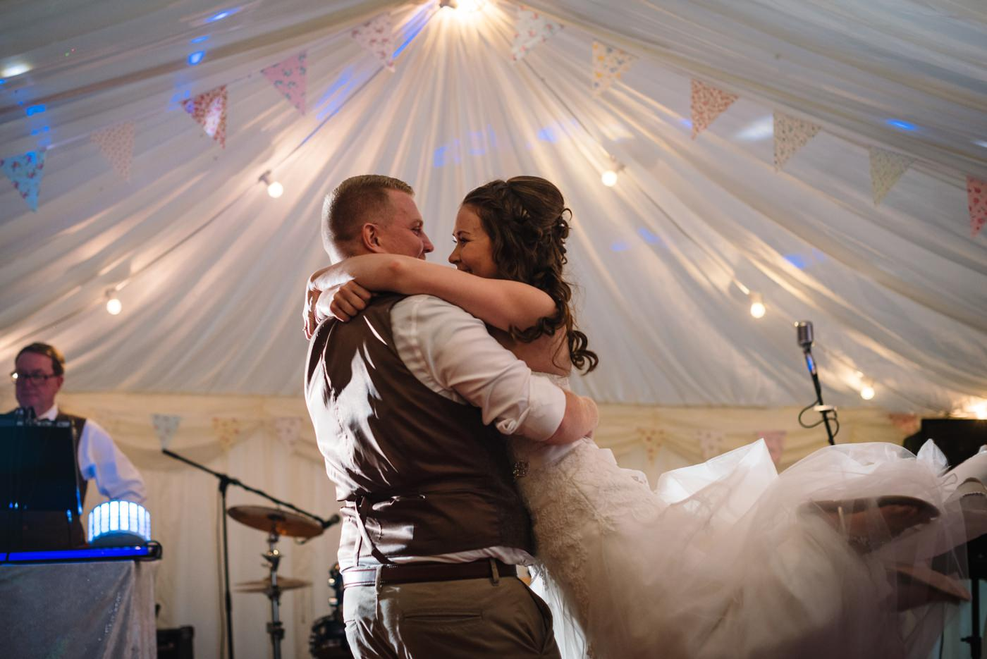 First dance photo by Milton Abbas Wedding Photographer