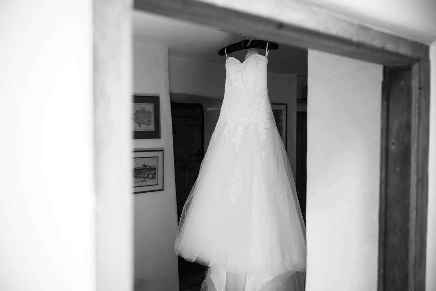 Wedding Dress Milton Abbas Wedding Photographer